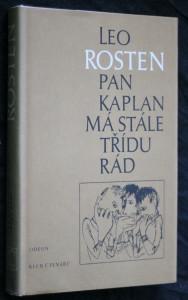 náhled knihy - Pan Kaplan má stále třídu rád