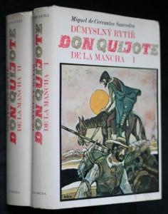 náhled knihy - Důmyslný rytíř don Quijote de la Mancha