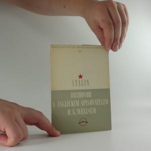 náhled knihy - Rozhovor s anglickým spisovatelem H. G. Wellsem