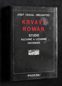 náhled knihy - Krvavý román : studie kulturně a literárně historická