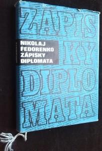 náhled knihy - Zápisky diplomata