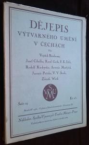 náhled knihy - Dějepis výtvarného umění v Čechách, roč. IV, sešit 14