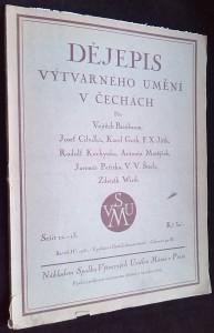 náhled knihy - Dějepis výtvarného umění v Čechách, roč. IV, sešit 12-13