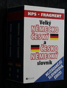 náhled knihy - Velký německo-český slovník