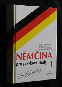 náhled knihy - Němčina pro jazykové školy : s novým pravopisem