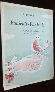 náhled knihy - Funiculi-Funicula: canzone napoletana per canto e pianoforte