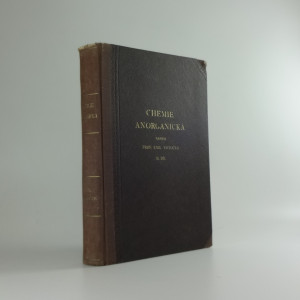 náhled knihy - Chemie anorganická II. D