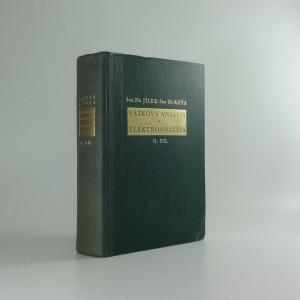 náhled knihy - Vážková analysa a elektroanalysa. Díl II, Speciální část