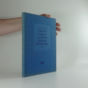 náhled knihy - Základní pochody a zařízení chemické technologie II.