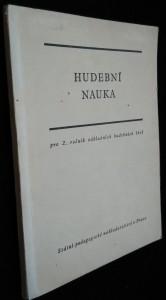 náhled knihy - Hudební nauka : cvičebnice pro 2. roč. zákl. hudebních škol