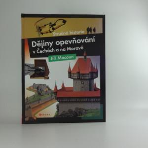 náhled knihy - Dějiny opevňování v Čechách a na Moravě