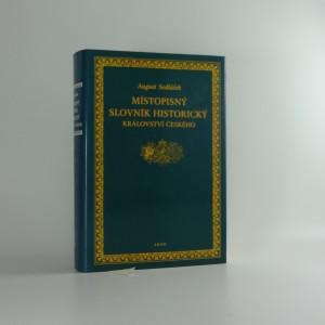 náhled knihy - Místopisný slovník historický království českého