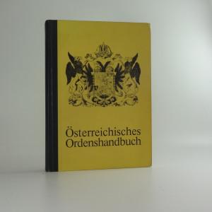 náhled knihy - Österreichisches Ordenshandbuch