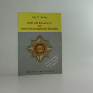 náhled knihy - Orden und Ehrenzeichen der Österreichisch-Ungarischen Monarchie