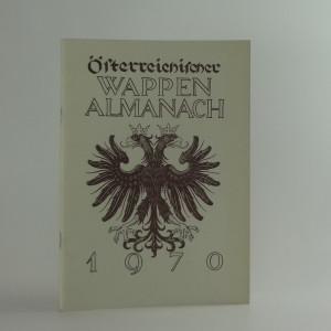náhled knihy - Österreichischer Wappen Almanach