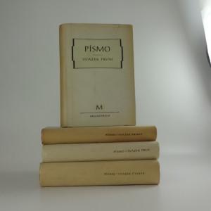 náhled knihy - Písmo (4 svazky)