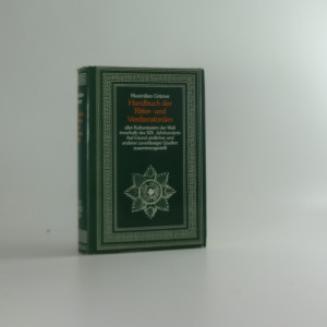 náhled knihy - Handbuch der Ritter- und Verdienstorden aller Kulturstaaten der Welt