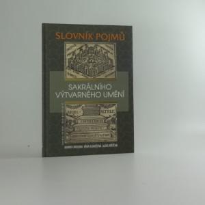 náhled knihy - Slovník pojmů sakrálního výtvarného umění