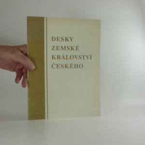 náhled knihy - Desky zemské Království českého