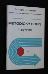 náhled knihy - Metodický dopis: Tenis v praxi