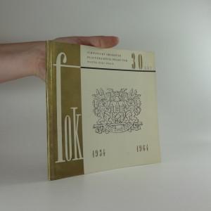 náhled knihy - Almanach k 30. výročí činnosti symfonického orchestru hlavního města Prahy FOK