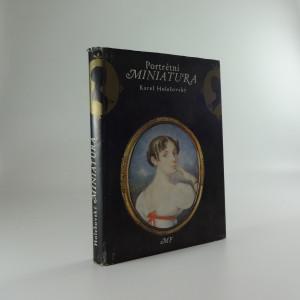 náhled knihy - Portrétní miniatura : historie, sběratelství a znalectví