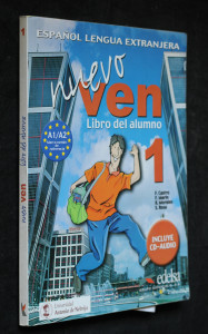 náhled knihy - Nuevo Ven: Libro del alumno - 2x CD