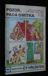 náhled knihy - Čtyřlístek 99 - Pozor, padá omítka