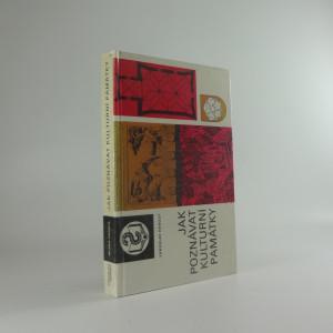 náhled knihy - Jak poznávat kulturní památky