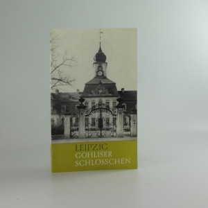 náhled knihy - Leipzig Gohliser schlosschen