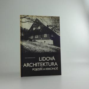 náhled knihy - Lidová architektura Pojizeří a Krkonoš