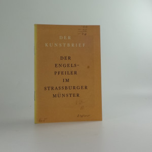 náhled knihy - Der Engelspfeiler im Strassburger Münster