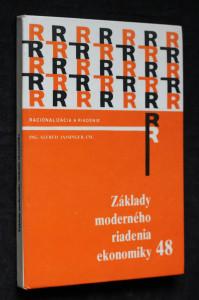 náhled knihy - Základy moderného riadenia ekonomiky