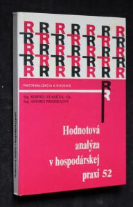 náhled knihy - Hodnotová analýza v hospodárskej praxi