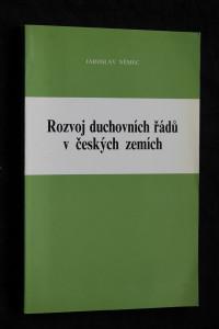 náhled knihy - Rozvoj duchovních řádů v českých zemích