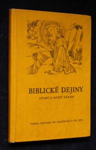 náhled knihy - Biblické dejiny