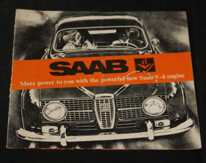 náhled knihy - Saab: More power to you with the powerful new Saab V-4 engine