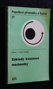 náhled knihy - Základy kvantové mechaniky