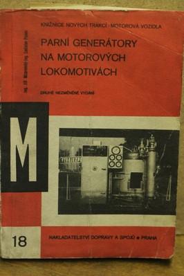 náhled knihy - Parní generátory na motorových lokomotivách