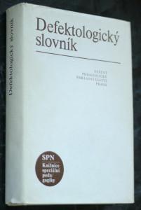 náhled knihy - Defektologický slovník