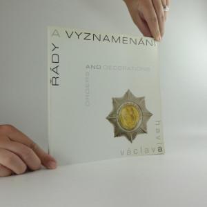 náhled knihy - Řády a vyznamenání Václava Havla