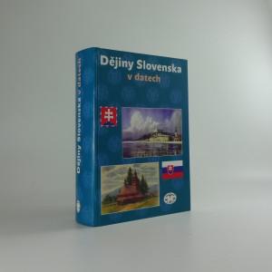 náhled knihy - Dějiny Slovenska v datech