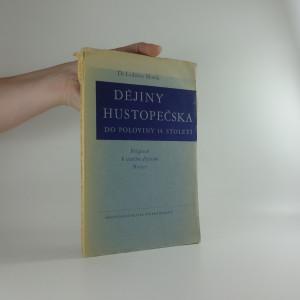 náhled knihy - Dějiny Hustopečska do poloviny 14. století : příspěvek k starším dějinám Moravy (včetně autogramu autora)