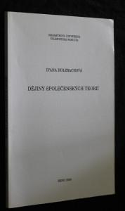náhled knihy - Dějiny společenských teorií