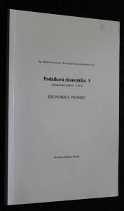 náhled knihy - Podniková ekonomika 3, Ekonomika podniku