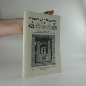 náhled knihy - Rakovnický erbovník 1. díl