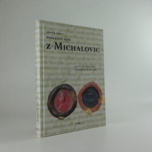 náhled knihy - Poslední páni z Michalovic