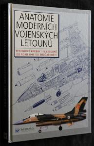 náhled knihy - Anatomie moderních vojenských letounů : technické kresby 118 letounů od roku 1945 do současnosti