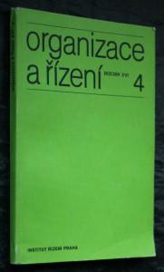 náhled knihy - Organizace a řízení, ročník XVI, č. 4