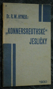 náhled knihy - Konnersreuthské jesličky : (dle vise stigmatisované Terezie Neumannové z Konnersreuthu umělecky podané Narození Páně akadem. malířem V. Andresem)